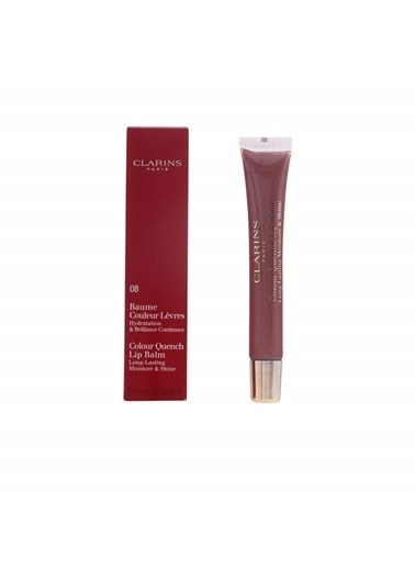 Clarins Clarins Hydraquench Lip Balms 08 Nut Cookie Mürdüm